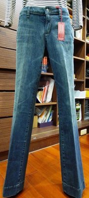Banana 深藍喇叭女牛仔褲