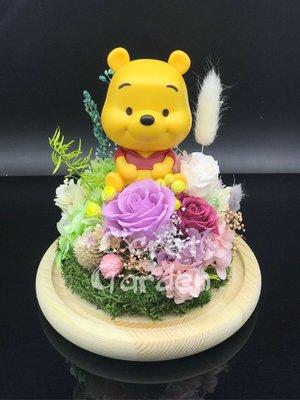 Winnie the Poon 保鮮花 永生花