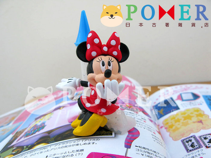 ☆POMER☆日本東京迪士尼樂園絕版正品 活動限定 非賣品 米妮 城堡 英文字母L 精緻 立體公仔 擺飾 裝飾 生日禮物