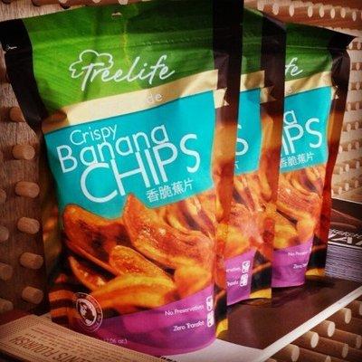 香脆蕉片6包,香蕉餅乾非常脆蜂蜜香蕉乾Crispy banana chips菲律賓宿霧長灘島巴拉望特產