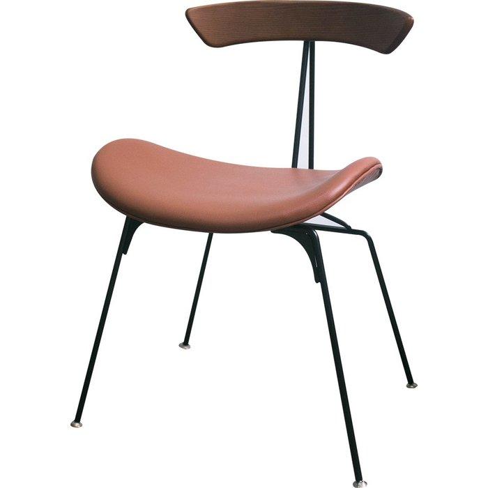 【YOI傢俱】塔莎休閒椅 咖啡/黑2色可選 休閒椅/餐椅/皮面/單人椅/洽談椅(YSW-1349)
