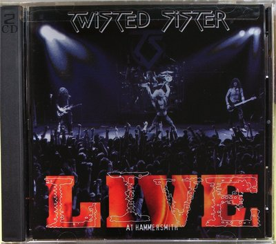 Twisted Sister - Live At Hammersmith 2枚組 二手美版