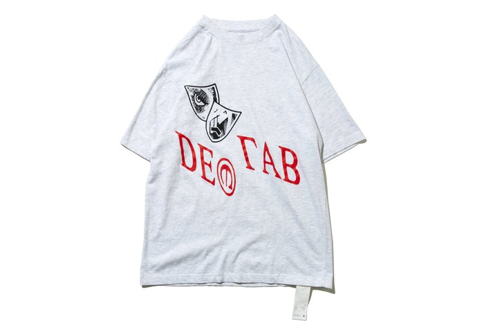 """[ LAB Taipei ] DeMarcoLab """"IN VISIBLE NOISE TEE"""" (Ash)"""