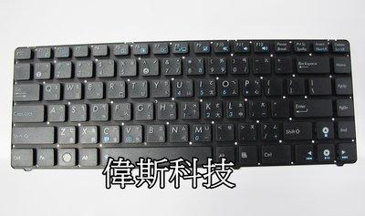 ☆偉斯科技☆ 華碩ASUS U36  U36J  U36S  U36SG  全新鍵盤~現貨供應中!