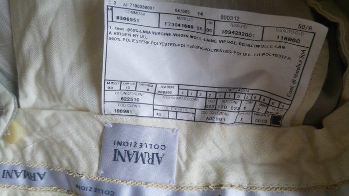 歐碼50【Armani Collezioni】西裝褲