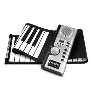 61鍵手卷鋼琴 電子琴 折疊軟鋼琴 MIDI接口  送電源-蛋蛋年代