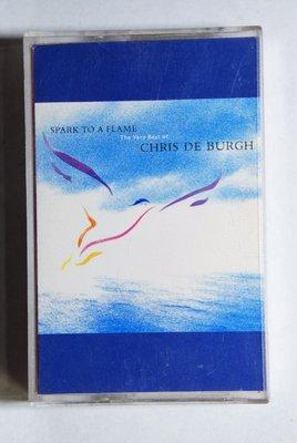 錄音帶 / 卡帶 / Q18/英文/ Chris De Burgh / 克利斯 迪博夫 /精選/ spark to a flame/非CD非黑膠