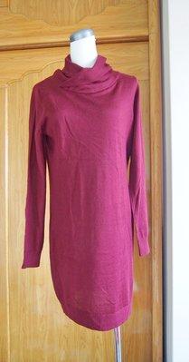 綠園~全新bossini造型款洋裝 針織 長版衫 質感細緻 舒適 棉