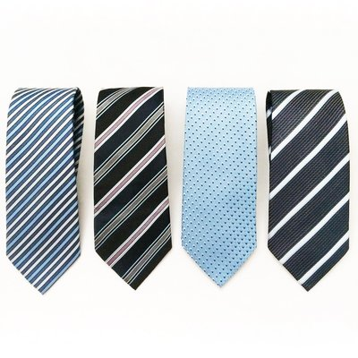 藍色系領帶4條