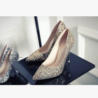 尖頭高跟鞋 水晶婚鞋-淺口時尚性感夜店女鞋子3色73e5[獨家進口][米蘭精品]