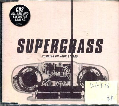 *真音樂* SUPERGRASS / PUMPING ON YOUR STEREO 二手 K10825 (下標賣1)