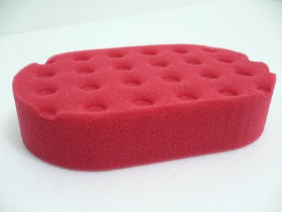 愛車美*~Lake Country Red CCS Euro Foam Applicator LC上蠟棉