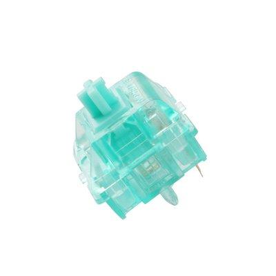 可樂屋 Zealpc Turquoise Tealios彩透蒂芙尼軸 客制化軸體 線性軸63.5g