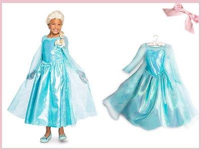 【童夢屋】迪士尼冰雪奇緣.艾莎.ELSA.造型服.公主服.禮服.洋裝.7-8T【4284101941】~9