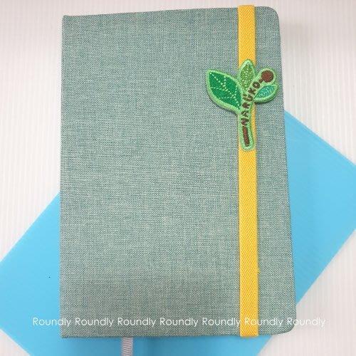 【Roundly圓】 NARUKO 茶樹隨寫塗鴉筆記本