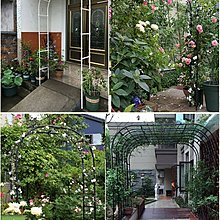 現貨~『簡約時尚20mm拱門』歐式拱門花架 爬藤架 薔薇爬藤類植物花卉