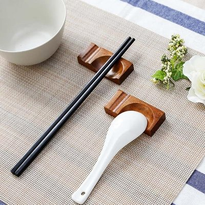 放筷子的小托餐桌擺放餐具筷子托家用飯店筷子支架托筷子勺子架托