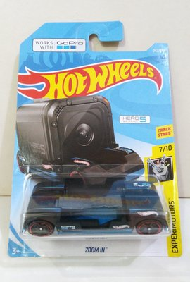 Hotwheels : Zoom In work with Go Pro Hero 5 Session (非 tomy matchbox kyosho)