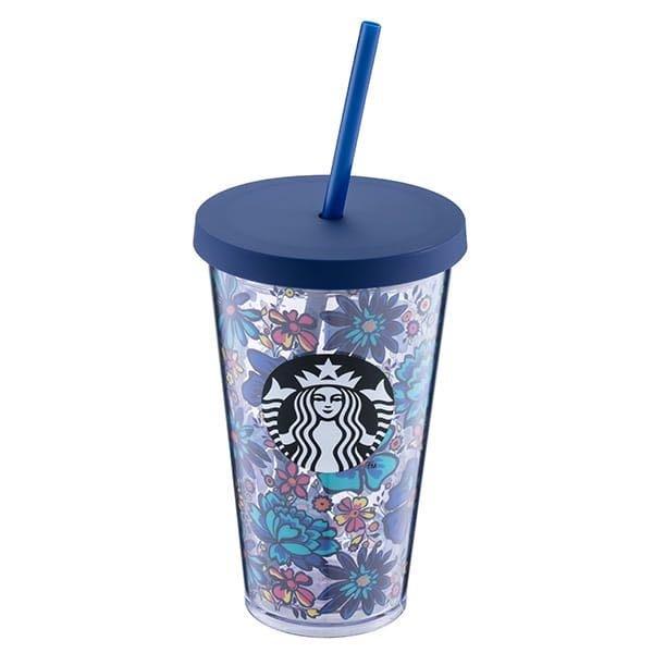 星巴克 VB FLORAL TOGO冷水杯 Starbucks x Vera Bradley聯名 5/7上市 美國包袋