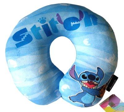 【卡漫迷】 史迪奇 頸枕  ㊣版 Stitch 醜丫頭 U型枕 車用 星際寶貝 午休枕 午安枕 迪士尼 Scrump