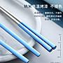 hello小店-便攜筷子勺子套裝餐具三件套兒童304不銹鋼叉子韓國學生可愛筷盒#鍋墊#杯墊#墊子#