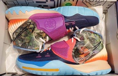 Nike Kyrie 6 KI6 Pre Heat City Pack 世界 Heal The World 爾文 Eye of Horus 荷魯斯之眼 US12
