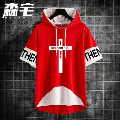【思思小鋪】I belong to jesus十字架耶穌短袖t恤男衣服動漫周邊夏季連帽聯名