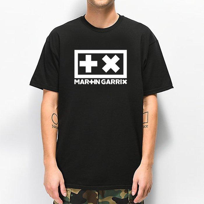 Martin Garrix Don't Look Down 全球百大DJ 官方 短袖T恤-黑色 電音舞曲派對EDM