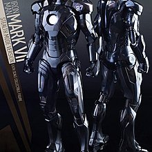 100% new Hottoys x chocoolate Ironman mark VII stealth mode version 潛行版 include Tee 12 inch 1/6