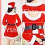 含稅附發票 CH030 聖誕裝 女生俏皮長袖連身裙 聖誕裝 聖誕服 聖誕禮服 聖誕老人裝 聖誕女裝 聖誕老公公裝 三件式