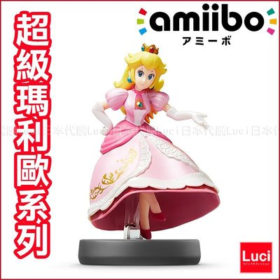 粉色 碧姬公主 超級瑪利歐 大乱闘 奧德賽 3DS amiibo 任天堂 Wii U 馬力歐 LUCI日本代購