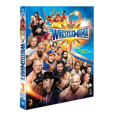 ☆阿Su倉庫☆WWE摔角 WrestleMania 33 DVD WM33摔角狂熱精選專輯 熱賣特價中