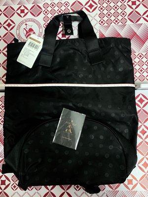 【含運】PORTER FLORID 後背包 手提包 NO.11589-00101S 黑色 (圓點)