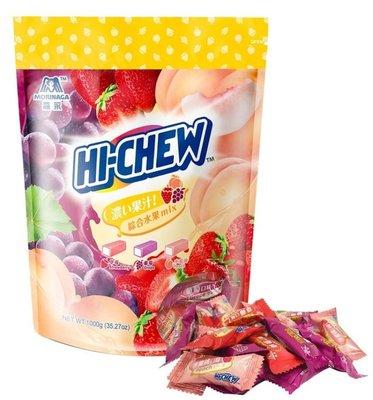 【好市多CSOTCO代購】森永 嗨啾軟糖立體包裝綜合經典水果口味1公斤/袋