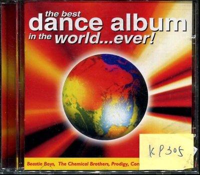 *真音樂* BEST DANCE ALBUM IN THE WORLD EVER 二手 K9305 (下標賣3)