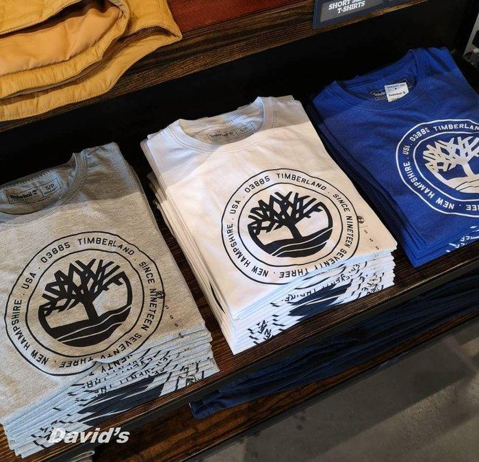 Timberland 短袖 T恤 上衣 衣服 多色 男 大樹 踢不爛 現貨 全新【A22HY】美國大衛