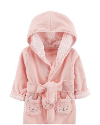 現貨 美國童裝 Carter's 卡特爾 嬰兒 女童 睡袍 浴袍 外套 浴巾 毛巾布 台中市