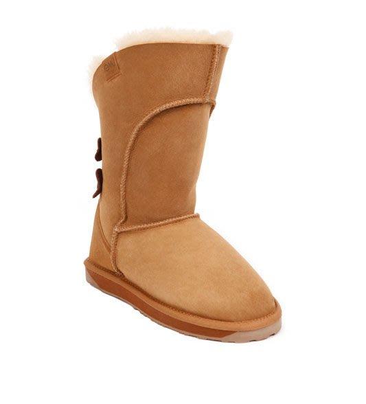 INDiCE ↗ EMU Australia Alba 頂級羊皮防水高筒雪靴 甜栗棕
