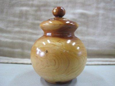 二手舖 NO.3105 龍柏 木雕擺飾 聚寶盆 聞香瓶 重油 扎實 帶財
