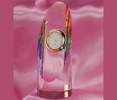 水晶文鎮計時器獎牌、獎座、獎盃 衝評價 歡迎批發CD-292