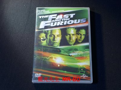 [DVD] - 玩命關頭1 The Fast and the Furious ( 傳訊正版 )