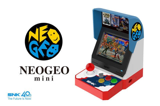 現貨中 亞洲版格鬥系列 SNK 40 周年紀念遊戲機 NEOGEO mini 迷你SNK主機 9月預定【板橋魔力】