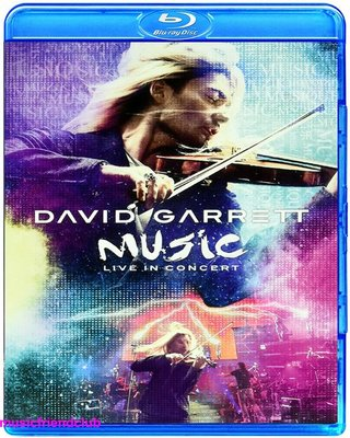 高清藍光碟 David Garrett Music Live In Concert (藍光BD25G)