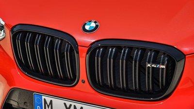 【樂駒】BMW X4M F98 Competition 原廠高亮黑水箱罩 黑鼻頭 空力 外觀 套件