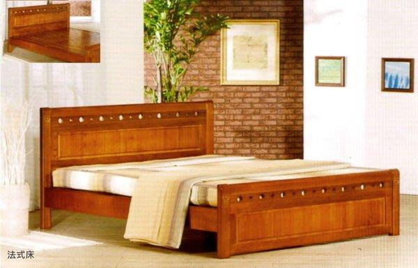 ※尊爵床墊 各款家具批發※法式全實木床架單人3.5尺6200 另有其它尺寸 全省免運費