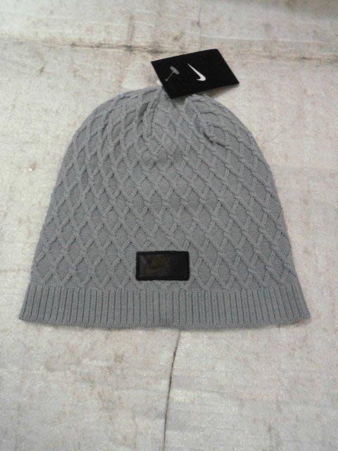 【n0900台灣健立最便宜】2016 NIKE-專業保暖毛帽-CABLE KNIT BEANIE-717118-012