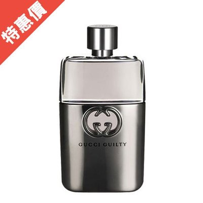 GUCCI Guilty pour Homme 罪愛男性淡香水 90ml Tester【A002764】S80501