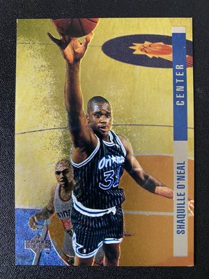 Shaquille O'Neal 1993-94 Upper Deck SE Behind the Glass #G13