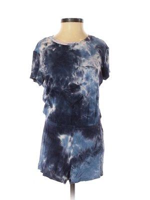 American Apparel 藍染舒適連身衣褲  波西米亞風