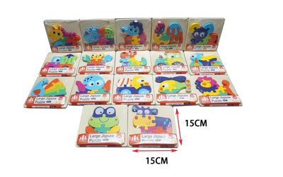 佳佳玩具 ------ 幼兒木質拼圖 3d 早教玩具 兒童拼圖動物 拼圖 簡易拼圖【YF17204】